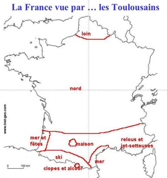 la France vue par les Toulousains