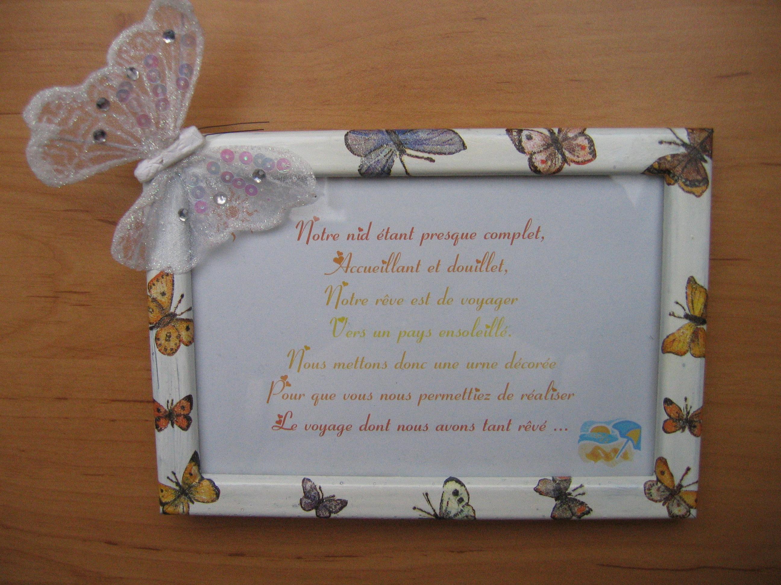 Et voici le cadre avec le texte j urne atchoume72 photos club doctissimo - Fabriquer une urne anniversaire ...