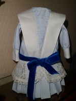 ROBE taille basse style 1915