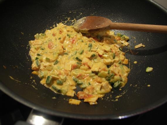 Curry de courgette