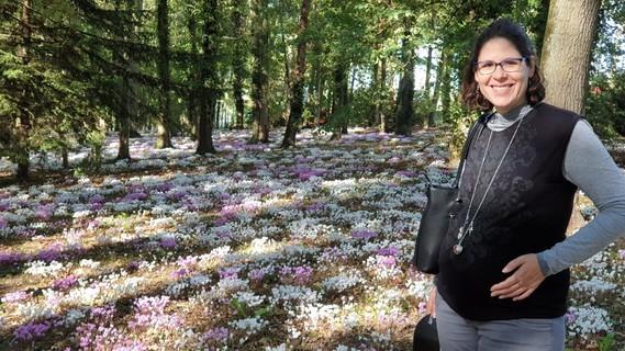 Ca sous bois fleuri Montbazon 11 10 19