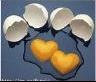 Oeufs en coeur