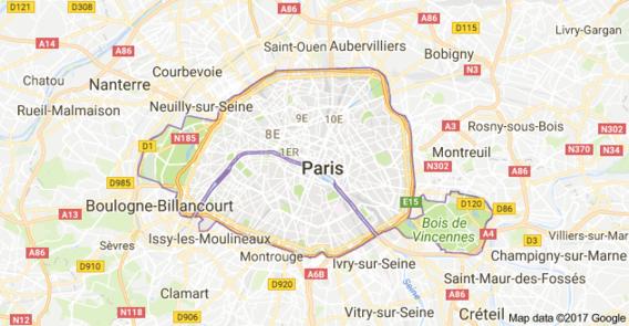 plan région parisienne