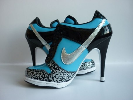 1298966961Womens Nike Dunk SB Low Black Aqua Silver Grey-1