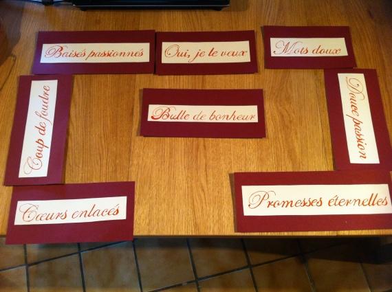 Nom des tables 3