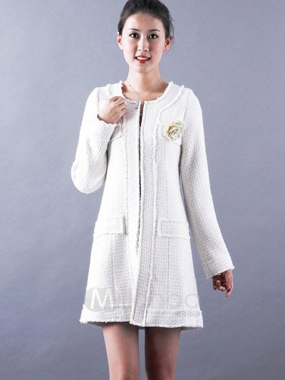 Elegant-White-Long-Sleeves-Wool-Women-s-Coat-36811-1