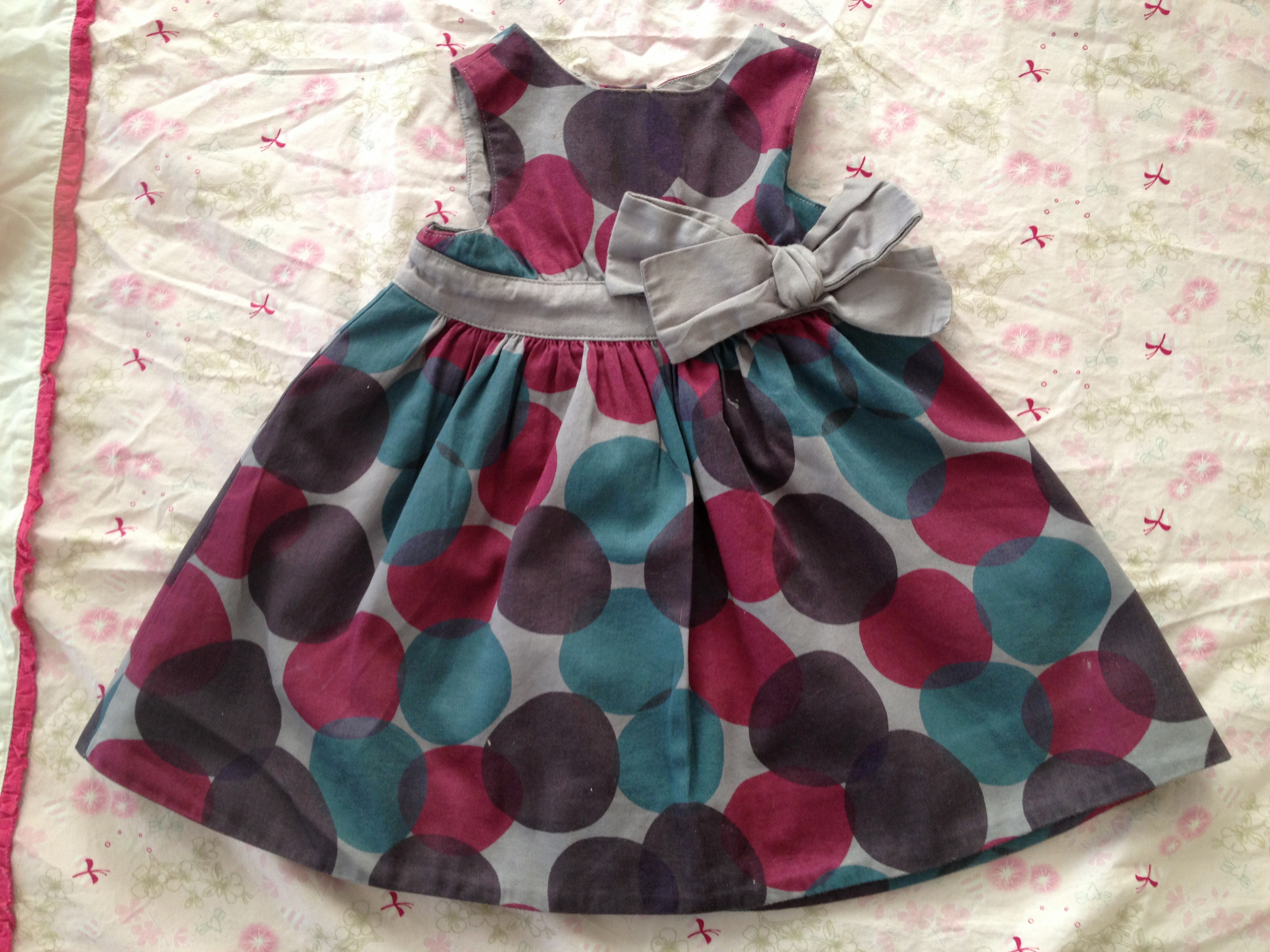 Robe ceremonie bebe fille 1 mois