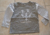 Tshirt ML gris&bleu 1.50 €