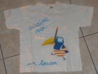 Tshirt mc  Verbaudet 0.50 €