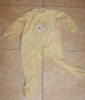 Pyjama Z jaune pale 1 €