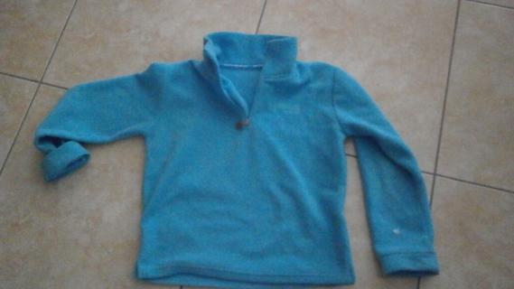 Polaire Turquoise 4€