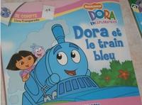 Dora et le train bleu 1€
