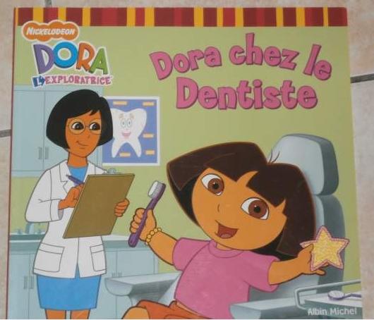 Dora chez le dentiste 1€