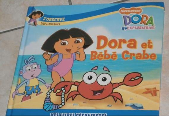 Dora et le bébé crabe 1€