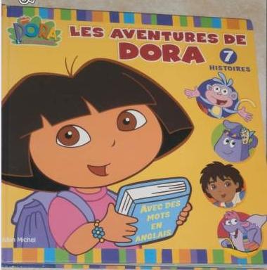 Les aventures de Dora 7 histoires 5€