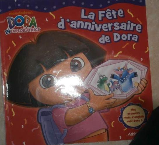 La fête d'anniversaire de Dora 1€