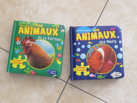 Livre puzzle les animaux 6€