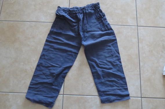 Pantalon lin 1.50 €