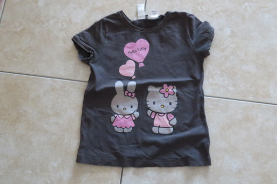 Hello Kitty gris 2€