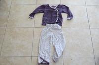 Pyjama violet 3€