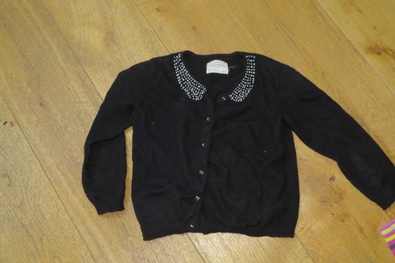 Gilet noir Zara 2€