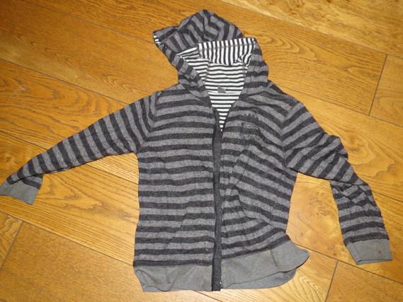 Zara Veste Noire à capuche 2€