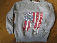 Orchestra sweat gris 3€