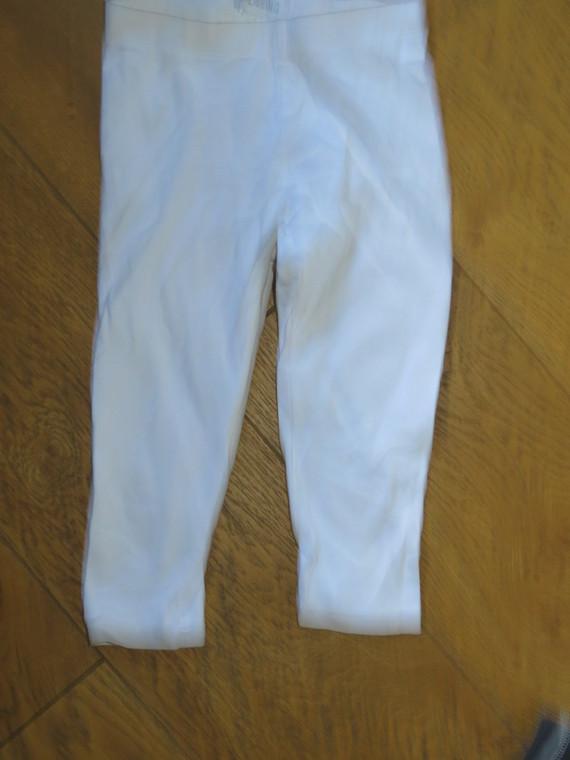 Legging 3/4 Blanc 1€