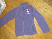 Gilet polaire hello kitty 2.5€