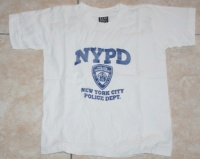 T shirt NYPD 3-4 ANS 1€