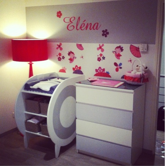 Lovely Chambre Fille Rose Et Gris #7: Idee Deco Chambre Rose Gris ...