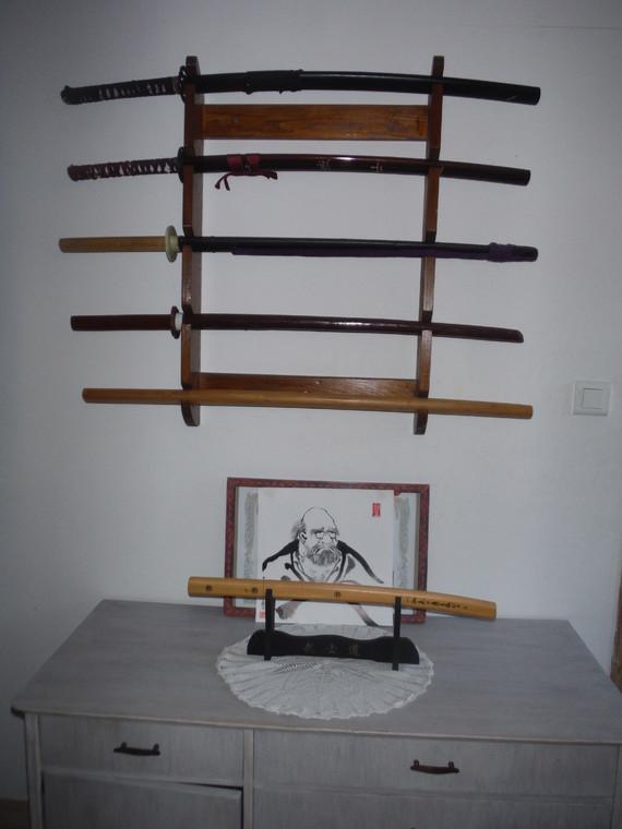 katana,bokken et shirasaya