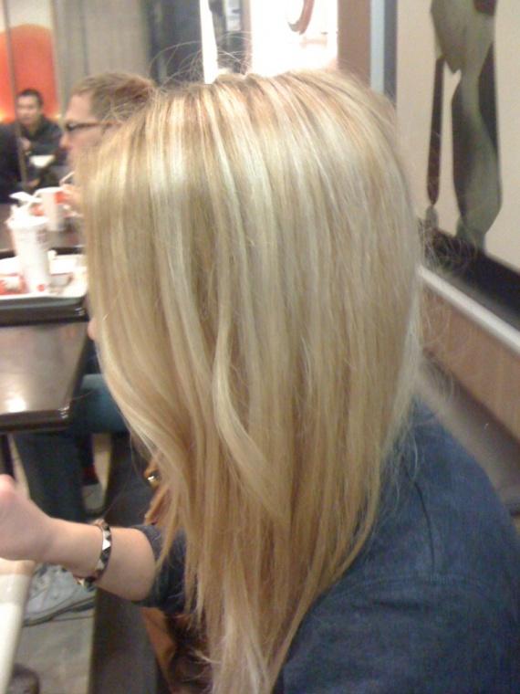Cheveux blonds » balayage. balayage. Alerter les modérateurs