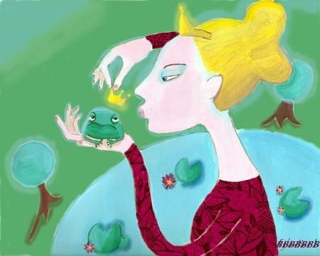 princesse et crapaud