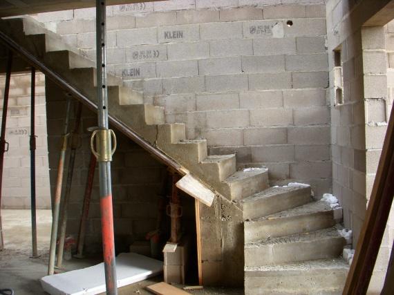 L escalier maison ewan54 photos club doctissimo for Maison de l escalier