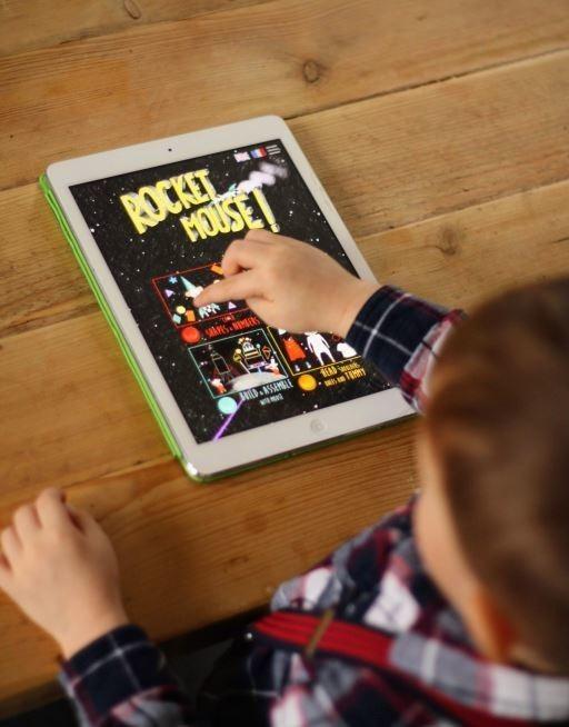 Rocket Mouse sur iPad