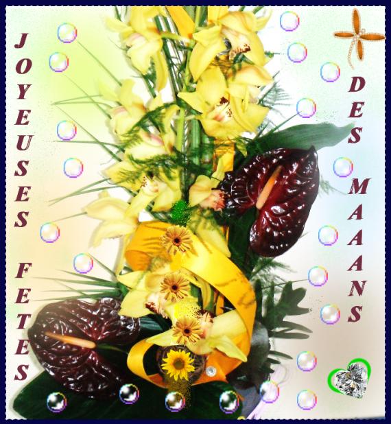 JOYEUSES FETES DES MAMANS PAPI
