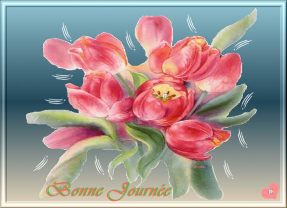 BONNE JOURNEE FLEURS (2)