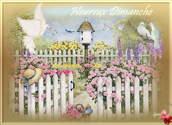 HEUREUX DIMANCHE JARDIN COLOMBES