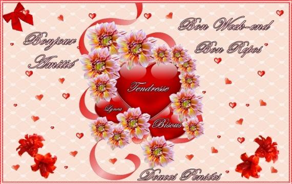 Résultat d'images pour gifs amitiés douces pensées du coeur