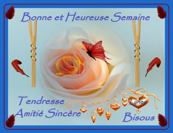 bonne semaine sincère amitié signes - BONNE SEMAINE - lynea18 ...