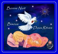 bonne nuit-beaux rêves-bisous enfant-lynea colombe