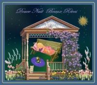douce nuit beaux rêves fillette dort de lynea