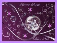 bonne soirée-douce nuit coeur et bulles lynea