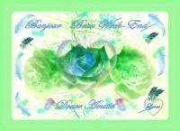 bon week-end bonjour roses lynea
