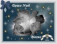 douce nuit bisous rose blanche de lynea