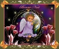 bonne nuit-amitie bisous ange de lynea