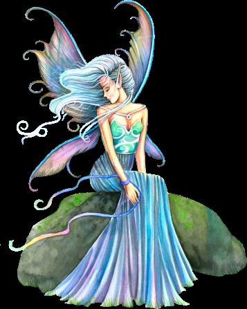 fée bleue-verte