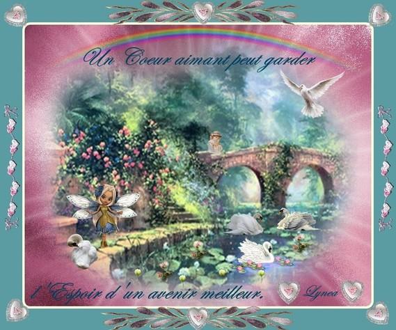 un coeur aimant peut garder l'espoir...de lynea