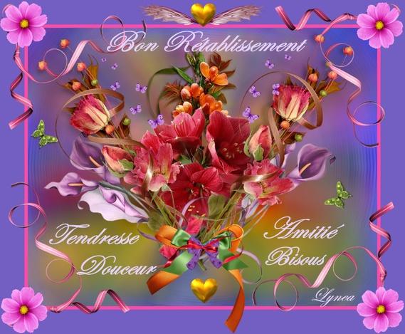 Bon Rétablissement Fleurs De Lynea Bon Retablissement